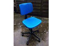Height adjustable Ikea office chair