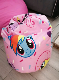 My little pony bean bag