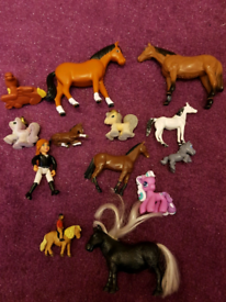 Bundle of ponies and horses