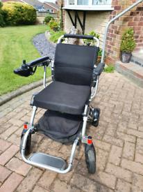 Folding powerchair 21kg (foldawheel)