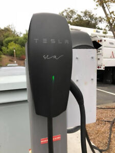 Tesla Signature Black Wall Charger  -  HPWC