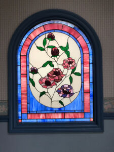 "Stained Glass window. ""Insulated"""