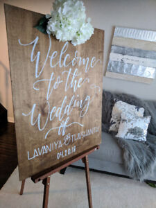 Professional Wedding/Event Calligrapher/Signs