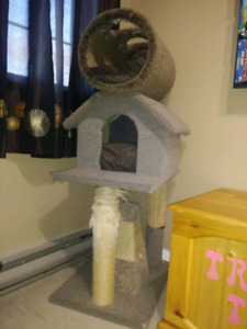 Cat climbing structure/house