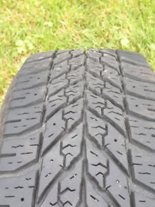 Goodyear Ultra grip Winter Tires with rims (4) 175/70 R14