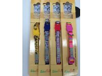 Cat collar with bell -4 colours