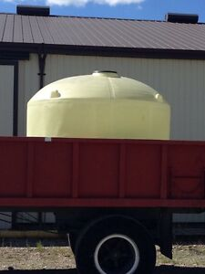Big , round plastic livestock water tank WANTED