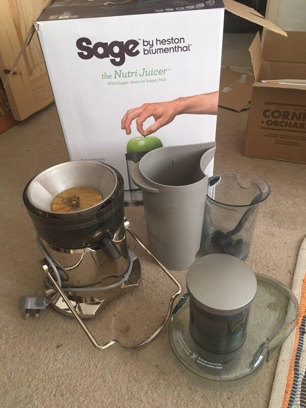 Sage - Heston Blumenthal - Nutri Juicer