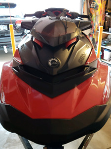 Seadoo rxpx 2017 2 seater red and black