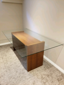 Glass table top **glass only