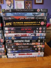 DVD collection/job lot