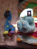 Brand new stuffed toys with original tags