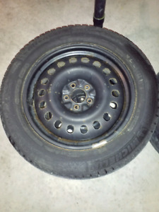 Used winter tires -MICHELIN X-ICE 225-60-18