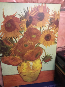 Sunflower by Vincent Van Gogh picture - wall art
