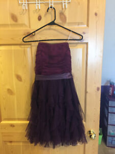 PURPLE DRESS FOR SALE!