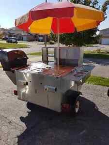 Willys Hummer Hot Dog Cart