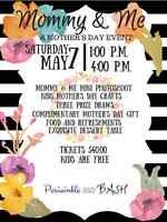 Mommy and me, mothers day event!!