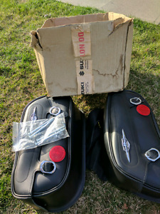 Motor cycle saddle bags