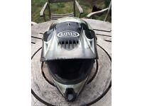 Rayven Large Youth Motocross helmet.