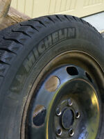 Michelin X-Ice Winter Tires with Rims - 195/65 R 15
