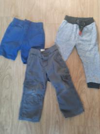Boys 2-3 items £1 each