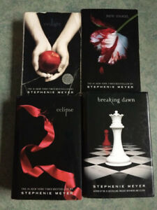 Twilight book series (4 books included); Great condition!