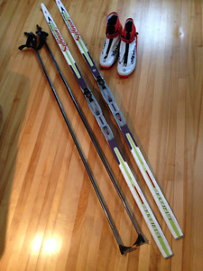 Skate Skiing complete set of gear