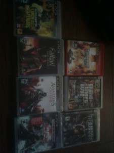 ps3 games (8) 10$ each