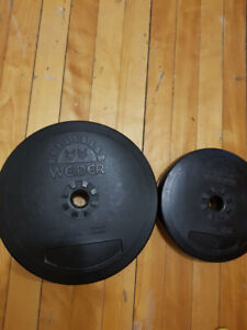 Weights  Total 110Lps  60 Dollars