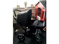 Bugaboo cameleon 3 limited edition all black with extras.