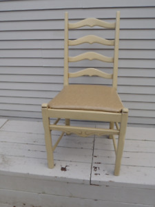 Ladder-Back Dining Room Chairs