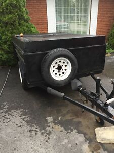 Very Solid Utility trailer, Top and Ramp
