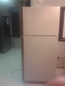 Beautiful Almond Frigidaire, negotiable if pick up this weekend