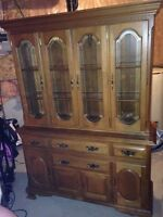 Beautiful Canadian made hutch
