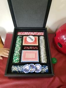 poker chip set case
