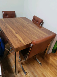 Kitchen table and 4 chairs. MUST GO!