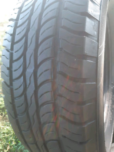 LIKE NEW 265/70/R16 FUZION TIRES