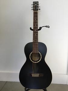"""Guitare """"Ami Cedar black"""" de Godin"""