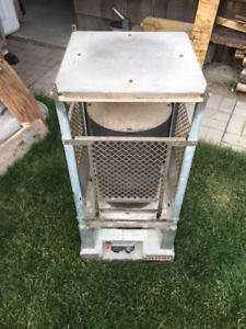 IR Energy Natural Gas Construction Heater w/ hose