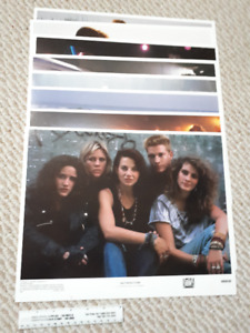 """""""Satisfaction"""" starring Julia Roberts 1988 lobby cards x 8"""