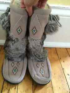 Wooly Fur Boots
