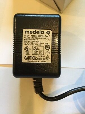 GENUINE MEDELA AC POWER ADAPTER 9207010 Rev. P PUMP IN STYLE ADVANCED 12V NEW