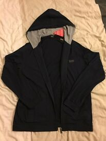 HUGO BOSS lightweight zip hood