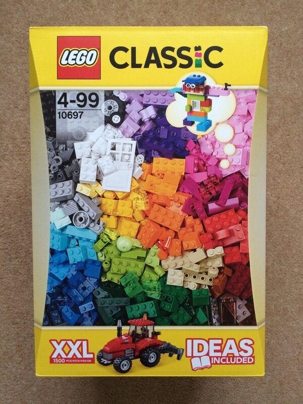 Genuine Lego Classic Xxl Brick Box 10697 With 1500 Pieces Brand New Amp Unopened In Ingleby