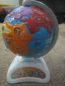 VTech USA Explore and Learn Map | VTech Touch & Learn ...