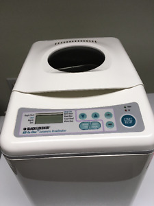 Black and Decker All-In-One Automatic Breadmaker