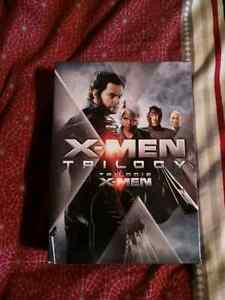 X men DVD trilogy all in mint condition