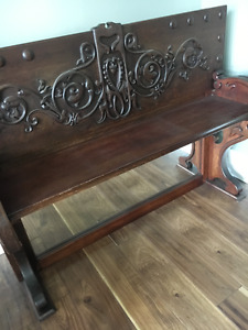 1800's 2 piece buffet