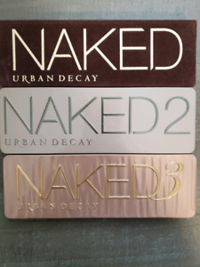 Urban Decay Naked Palette 1, 2 & 3 Bundle!