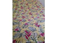 🛌 💛💗Double yellow floral quilt cover pristine
